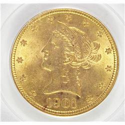 1901 $10 GOLD LIBERTY
