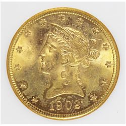 1902-S $10 GOLD LIBERTY