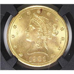 1901-S $10 GOLD LIBERTY