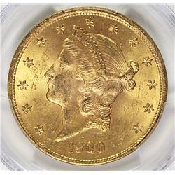 1900 $20 GOLD LIBERTY