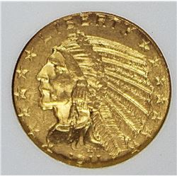 1911 $5.00 GOLD INDIAN