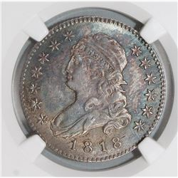 1818/5 BUST QUARTER