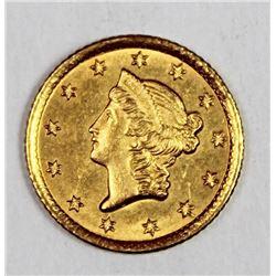 1853-O GOLD DOLLAR