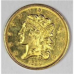 1834 $5.00 GOLD