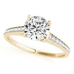 2.33 ctw Certified VS/SI Diamond 2pc Wedding Set 14k Yellow Gold - REF-559H3R