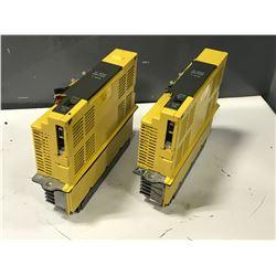 (2) FANUC A06B-6066-H006-R & A06B-6066-H004-R SERVO AMPLIFIER