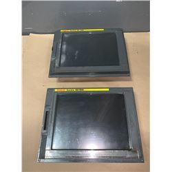 """(2) - FANUC A02B-0281-C081 10.4"""" FA-LCD UNIT_SERIES 18i-MB"""
