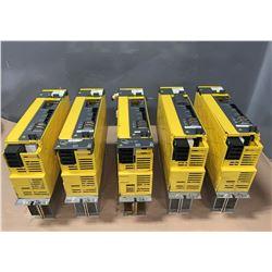 (5) - FANUC A06B-6127-H209 SERVO AMPLIFIERS
