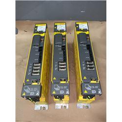 (3) - FANUC A06B-6114-H302 SERVO AMPLIFIERS