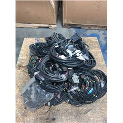 LOT OF FANUC CABLES