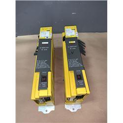 (2) - FANUC A06B-6090-H003 SERVO AMPLIFIER UNITS