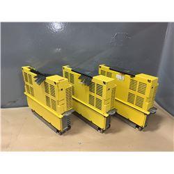 (3) - FANUC A06B-6066-H004 SERVO AMPLIFIERS