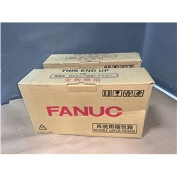 (2) - NEW IN BOX - FANUC A06B-6136-H201 SERVO DRIVES