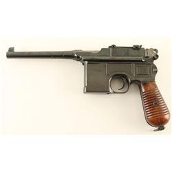Mauser C96 'M-30' 7.63x25mm SN: 893909