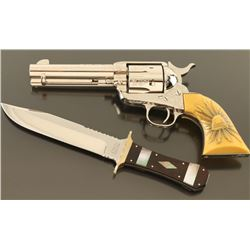 Factory Engraved Colt Single Action Army 45