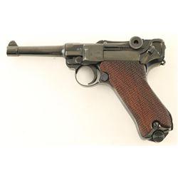 Erfurt P.08 9mm Luger SN: 6814p
