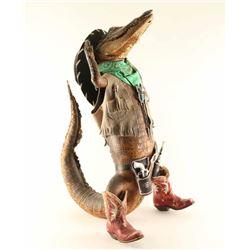 Full Mounted Western Crocodile