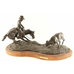 Original Fine Art Bronze by C.R. Morrison.
