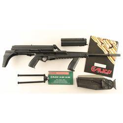 Calico M-900 Carbine 9mm SN: E001157
