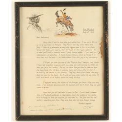 Original Joe Beeler Letter