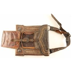Early Mexican Pitiado Pommel Bag