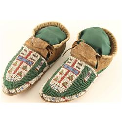 Sioux Beaded Moccs