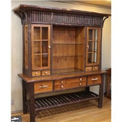 Gorgeous Rustic Curio Cabinet/Buffet