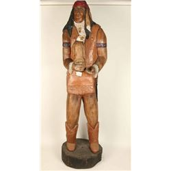 6' Wooden Indian Carving
