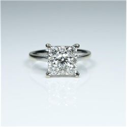 Exquisite Extra Fine Diamond Ring