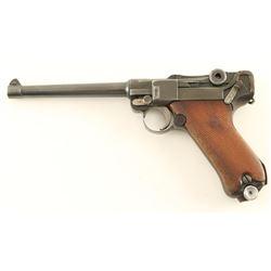 Luger Parts Gun 9mm SN: 9407M