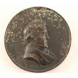 1857 James Buchanan Peace Medal