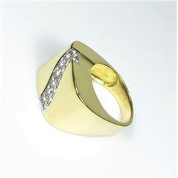 Fine Quality 18 karat Italian Diamond Ring
