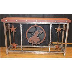 Unique Metal Console Table