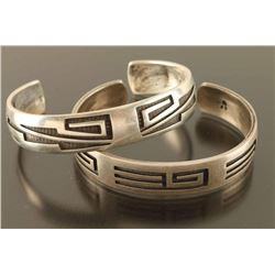 Lot of 2 Hopi Cuffs