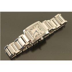 Authentic Cartier Tank Francaise Watch
