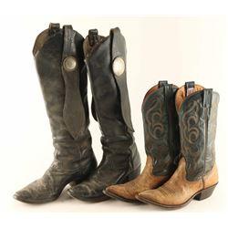 Lot of Men's Leather Cowboy Boots
