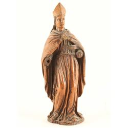 """8"""" Hand Carved Wooden Statue"""