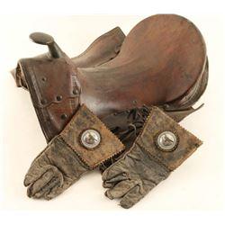 Vintage Kid's Saddle