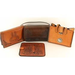 Lot of (3) Leather Bags