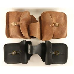 Lot of (2) Saddle Bags