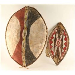 Collection of Masai Shields