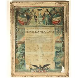 100 Years of Mexican Independence Poster