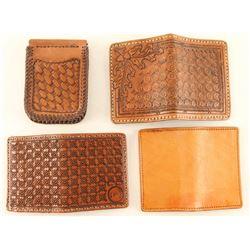 Lot of (4) Wallets