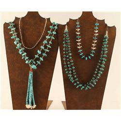 Lot of 4 Navajo Necklaces