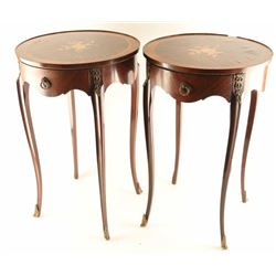 Lot of (2) Antique Victorian Side Tables