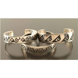 Lot of 3 Hopi Bracelets