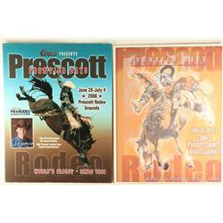 Lot of 4 Prescott Rodeo Posters