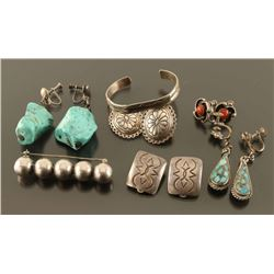 Lot of Native Jewelry