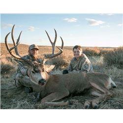 4 day Mule Deer Hunt