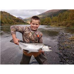 Sport Fishing & Wildlife Viewing Trip to Kodiak Island for 2 people